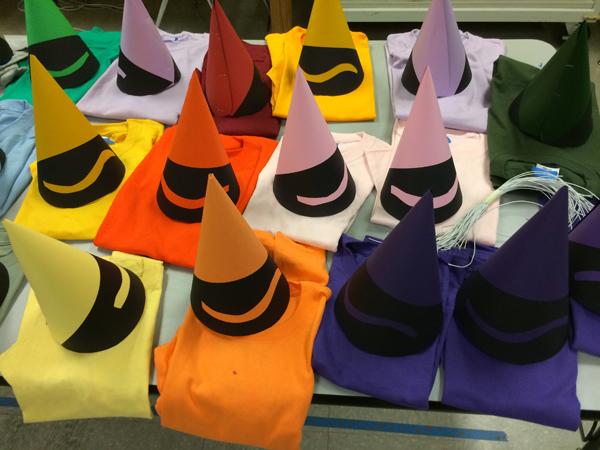 Crayon Costumes at Summer Fun!