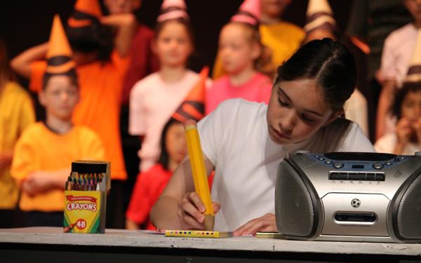 Stella and Crayons at Summer Fun!